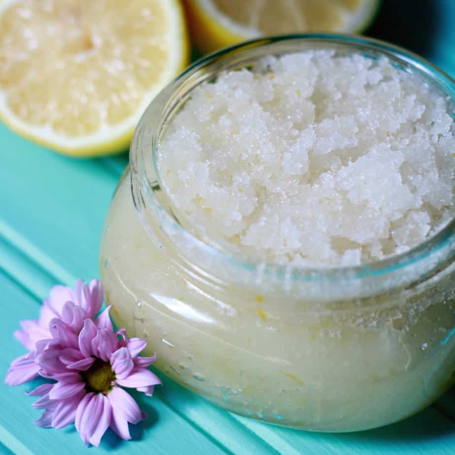 Lemon Honey Sugar Scrub