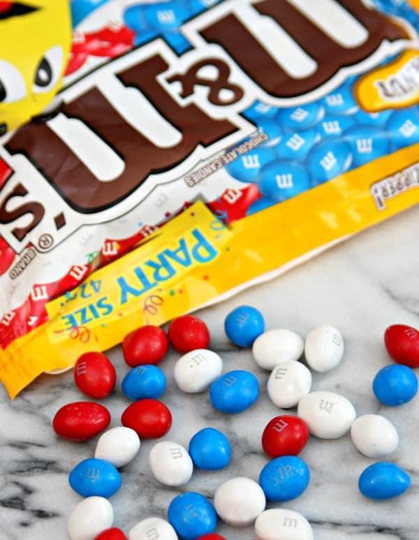 M&M's® Red, White, & Blue Peanut