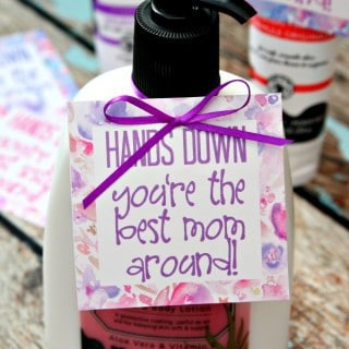 Mother's Day Gift with Free Gift Tags