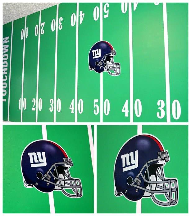 Great New York Giants Football Helmet