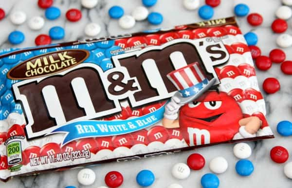 Red, White, Blue M&M's®