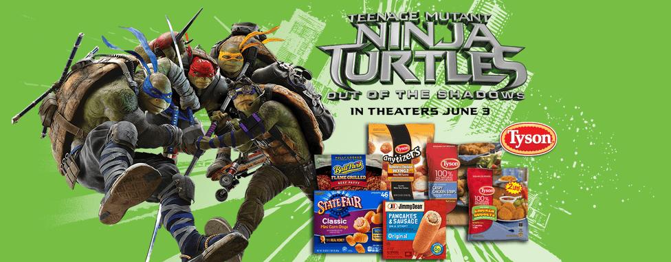 Teenage Mutant Ninja Turtles Free Movie Tickets #TMNT2andTyson