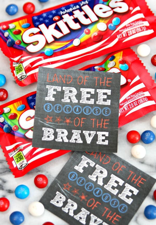Skittles America Mix - Support the troops with a fun gift