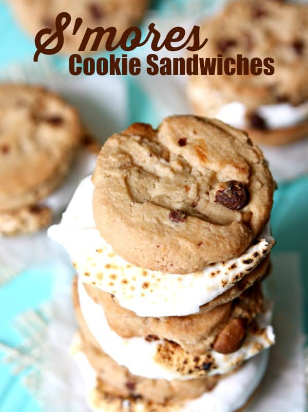 S'mores Cookie Sandwiches 1