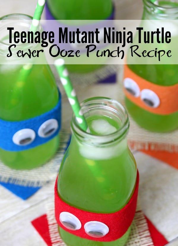 Teenage Mutant Ninja Turtle Sewer Ooze Punch Recipe