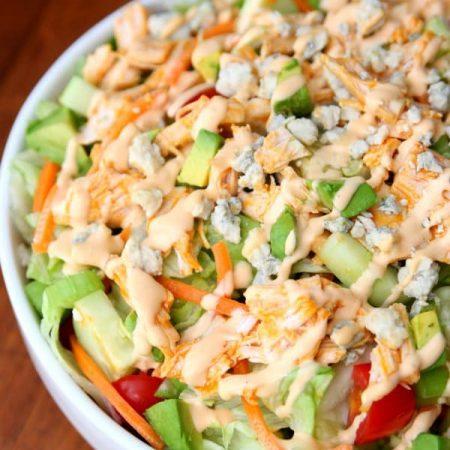 Buffalo Chicken Chopped Salad