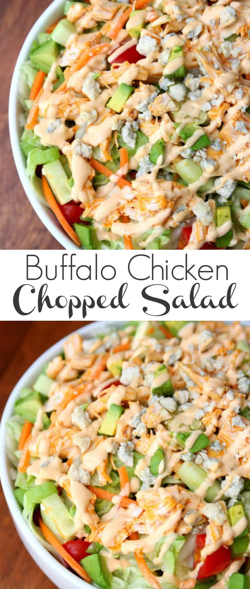 ... www.happygoluckyblog.com/2016/06/buffalo-chicken-chopped-salad.html
