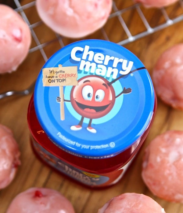 Cherry Man Cherry Donuts