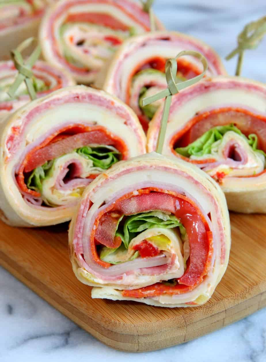 Italian Sandwich Roll-Ups 4