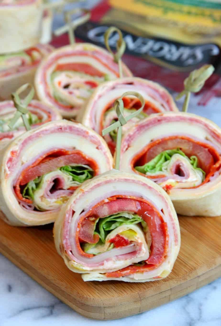 Italian Sandwich Roll-Ups 5
