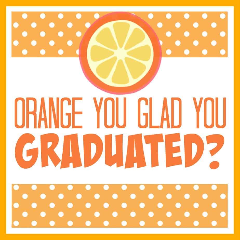 Orange You Glad You Graduated