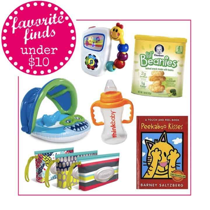 Favorite Baby Items Under $10