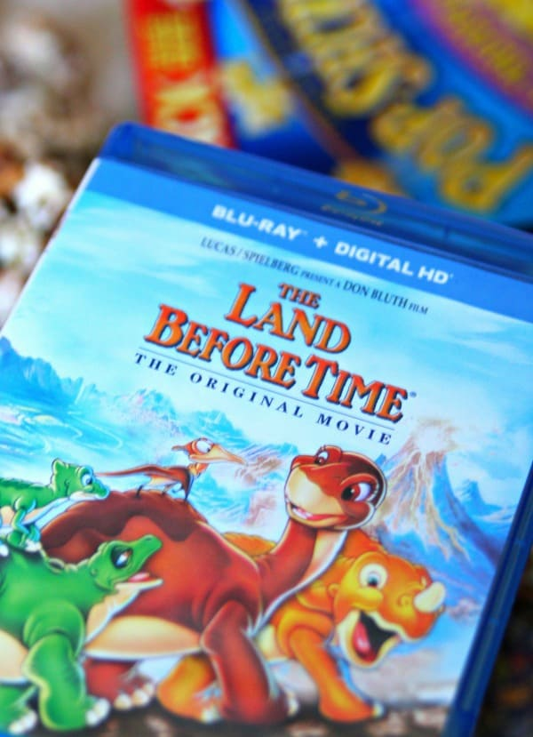 The Land Before Time Movie and S'mores Popcorn