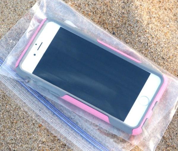 cellphone beach tip
