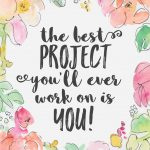 the best project is you
