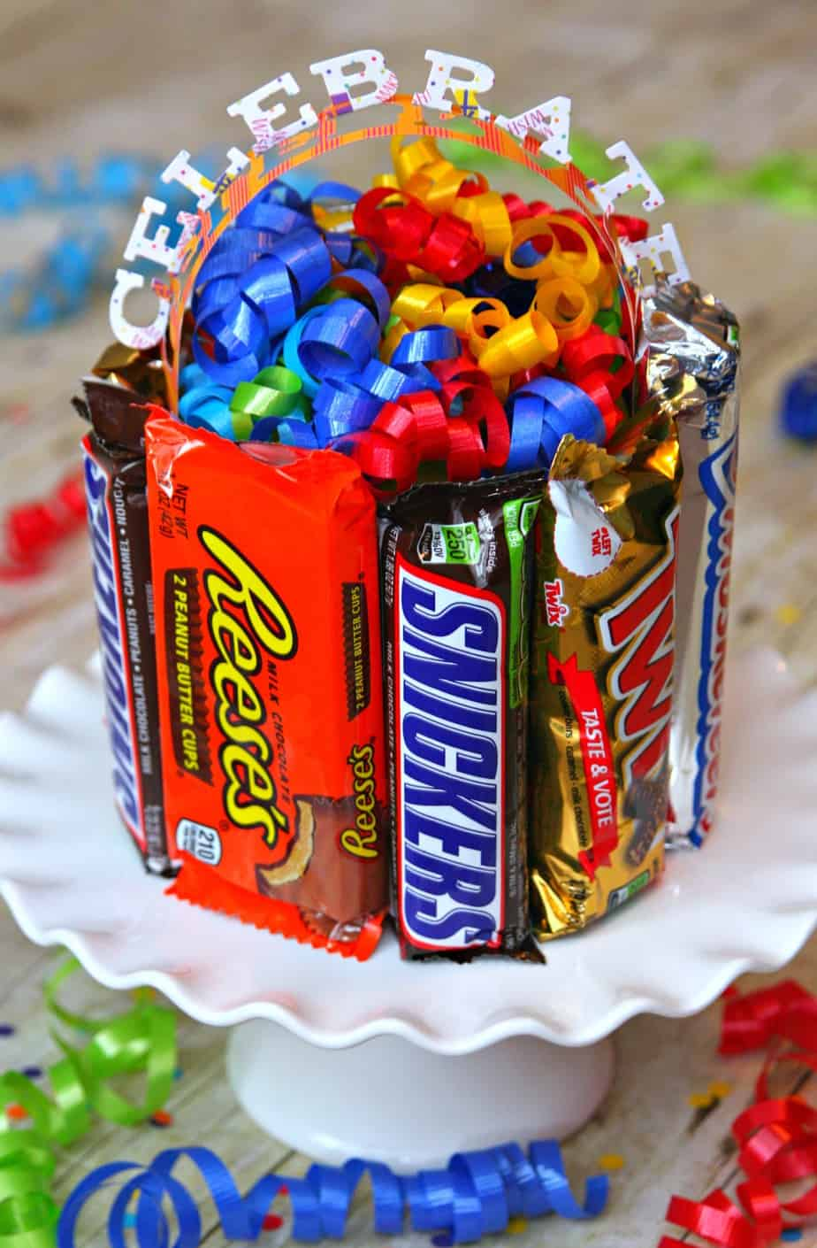 Candy Box Birthday Cake