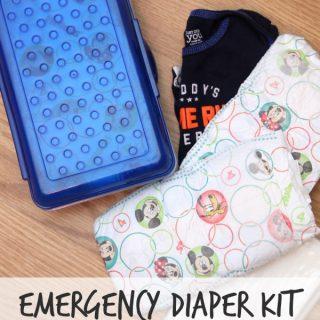 Emergency Diaper Kit