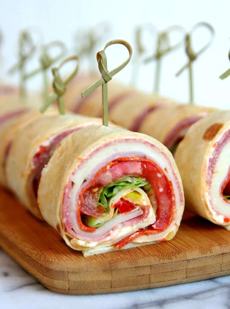 Italian Sandwich Roll Ups - A delicious and easy recipe for everyone!