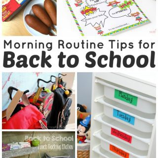 Ad: Morning Routine Tips for Back to School