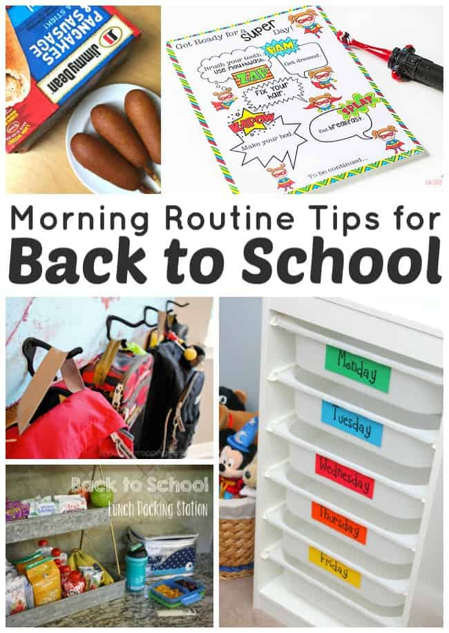 Morning Routine Tips for Back to School