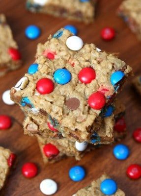 http://www.happygoluckyblog.com/wp-content/uploads/2016/07/Patriotic-Monster-Cookie-Bars-287x400.jpg