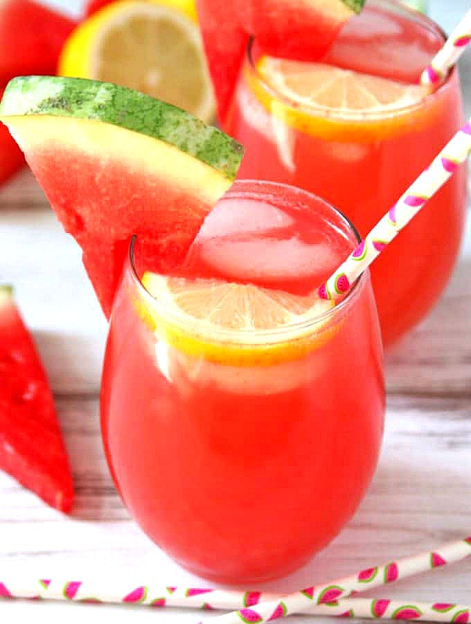 Spiked Watermelon Lemonade