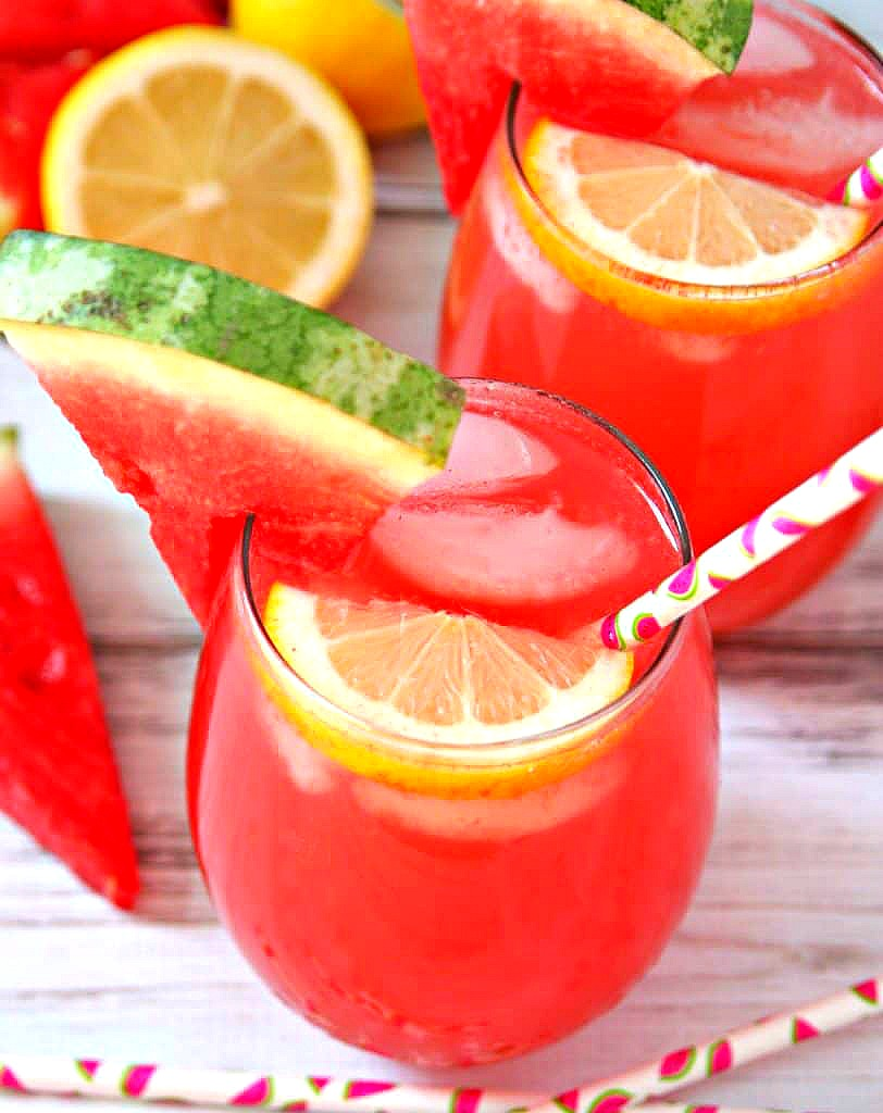 Spiked Watermelon Lemonade Cocktail Recipe