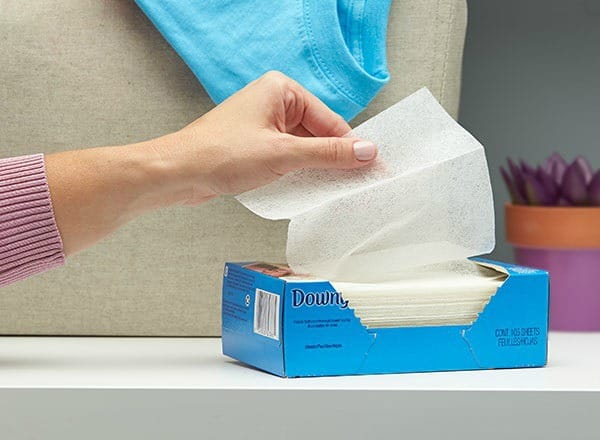 dryer sheets mosquito repellent