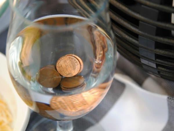 keep flies away with pennies