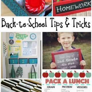 Back-to-School Tips and Tricks
