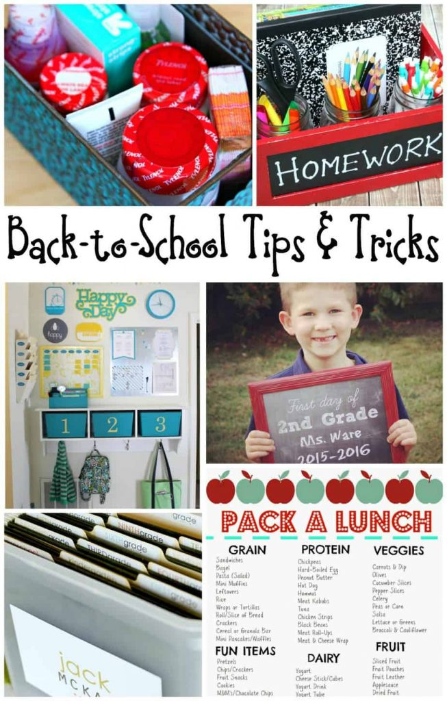 Back to school tips and tricks 2