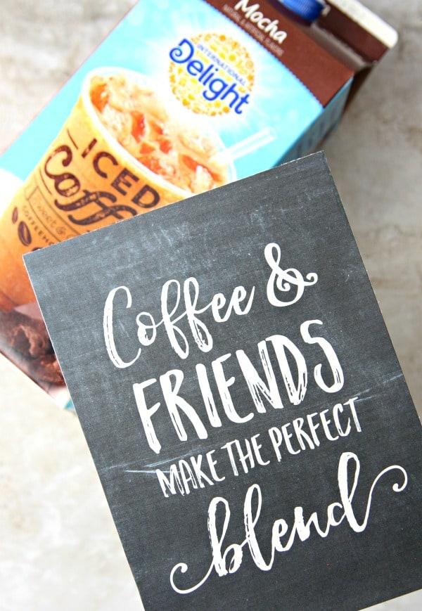 Coffee Friends Printable