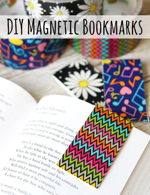 DIY Magnetic Bookmarks