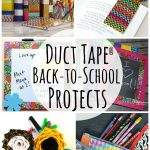 Duct Tape Back to School Projects