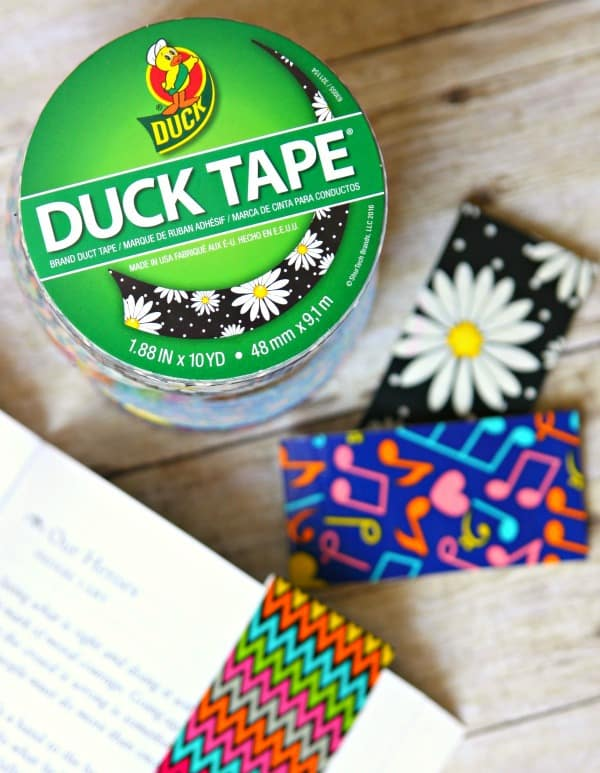 Duct Tape Magnetic Bookmarks 2