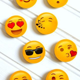 Fun and Easy Emoji Magnets