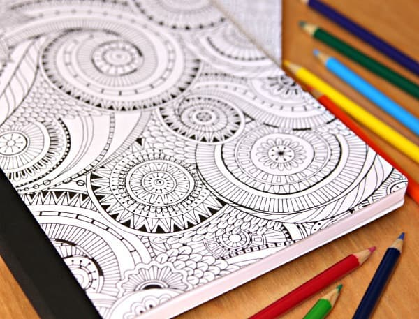DIY Extreme Coloring Notebooks