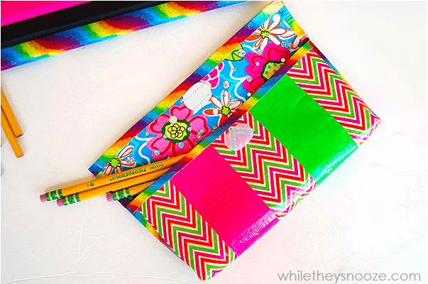 Duct Tape Pencil Pouch