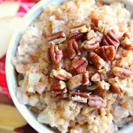 Slow Cooker Apple Pear Oatmeal