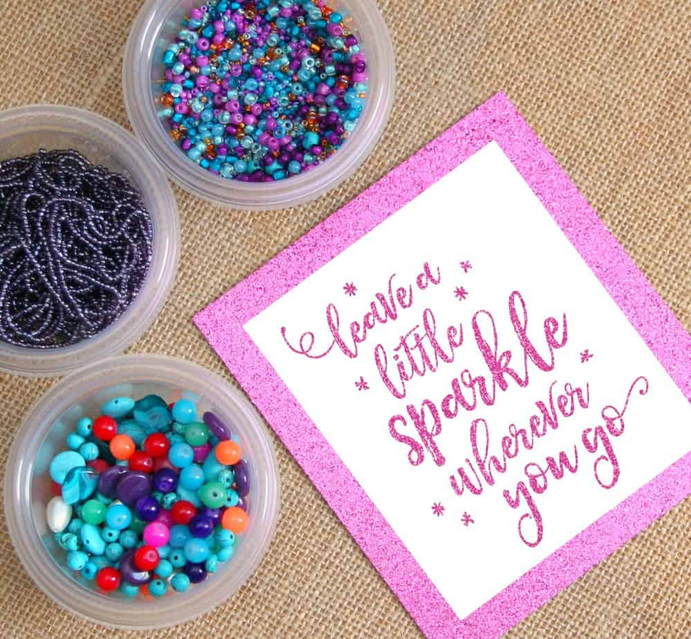 Sparkle Glad Bead
