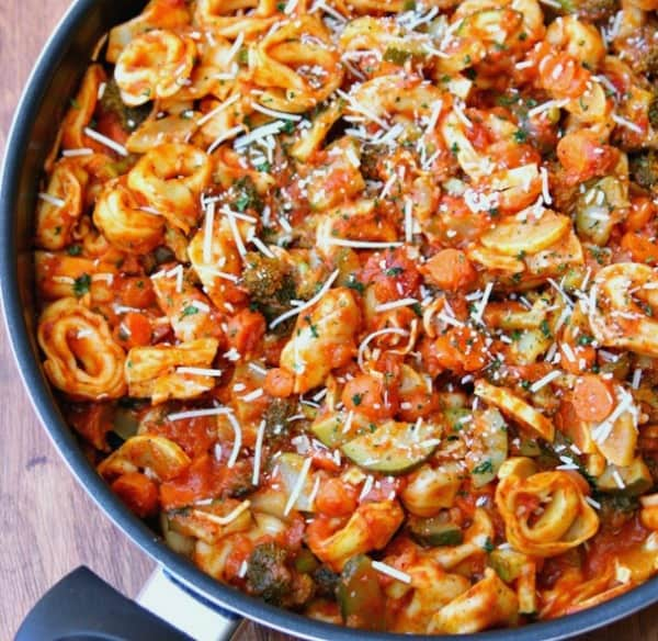 Tortellini One Pan Meal