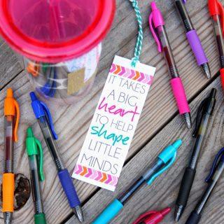 Personalized Tumbler {Teacher Gift Idea}