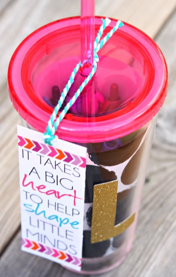 Tumbler and Pens Teacher Gift 2