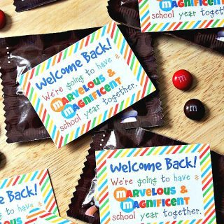 Student Welcome Gift {Free Printable}
