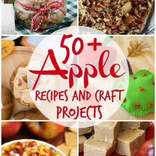50+ Apple Recipes and Craft Projects