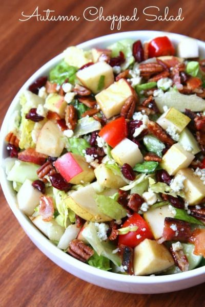 Autumn Chopped Salad