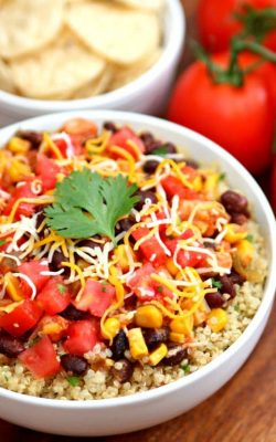 Dump and Bake Mexican Chicken