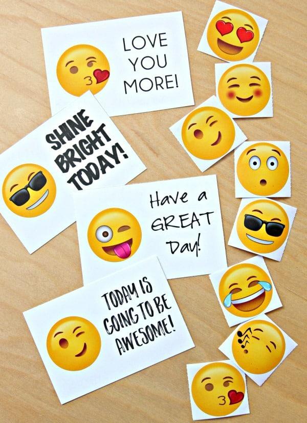 Emoji Lunchbox Notes 3