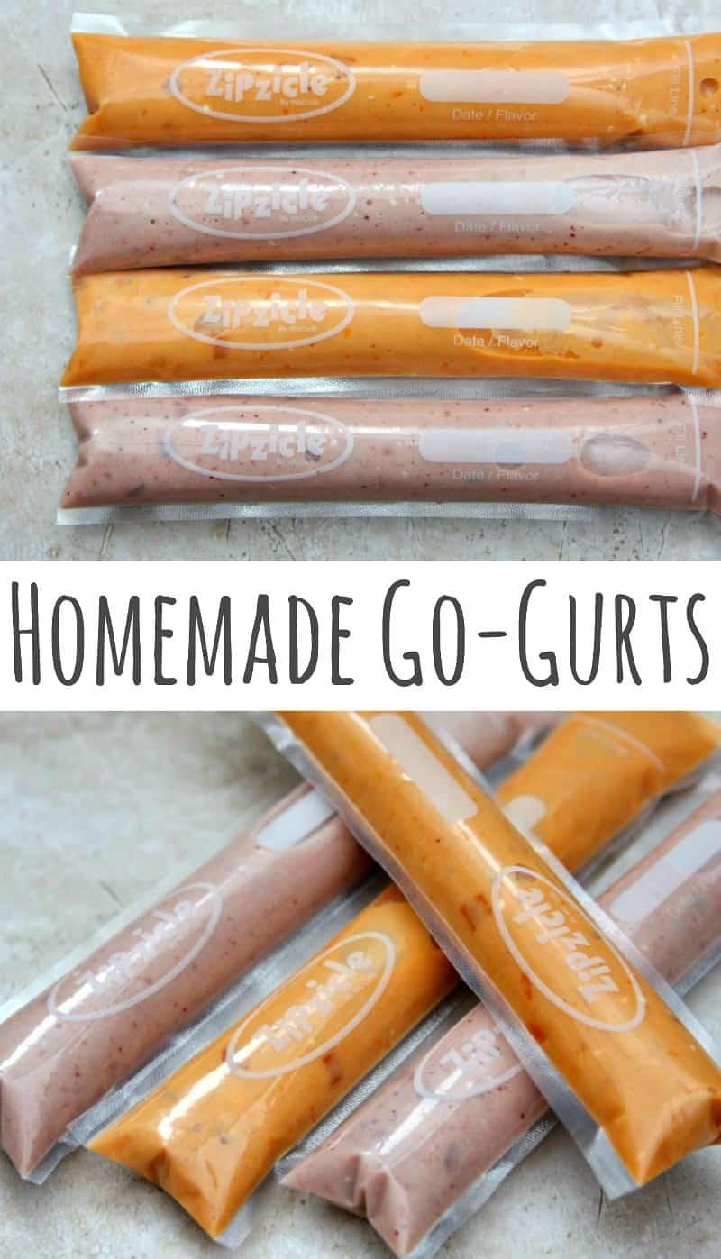 Homemade Go-Gurts