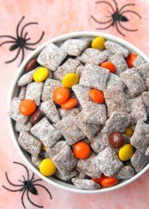 http://www.happygoluckyblog.com/wp-content/uploads/2016/10/Halloween-Muddy-Buddy-Snack-Mix-2-214x300.jpg